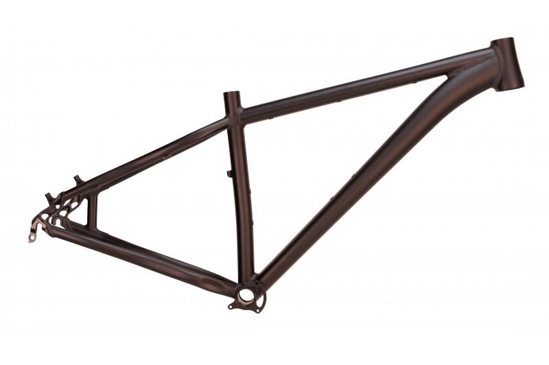 MTB Hardtail Rahmen 29er - schwarz eloxiert