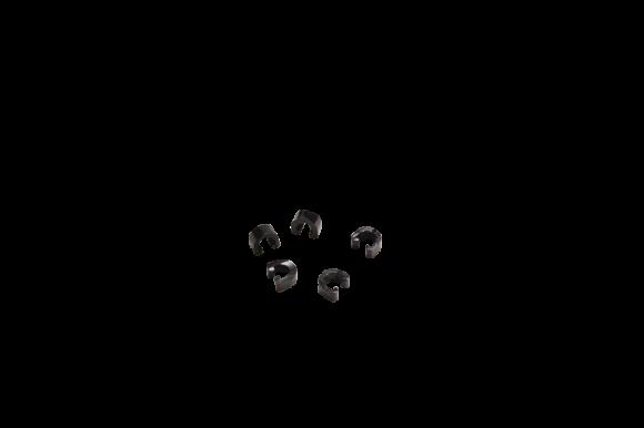 Rahmenclips Kunststoff - 1fach