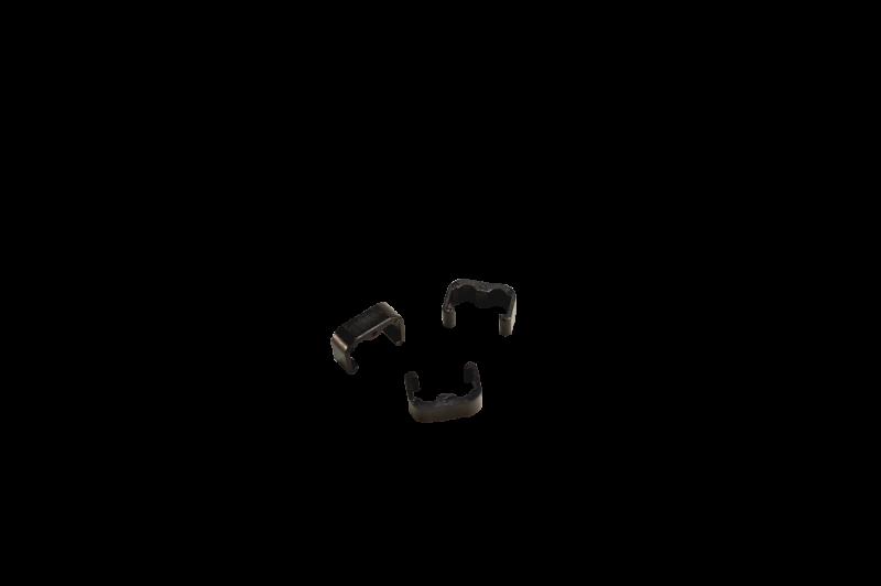 Rahmenclips Kunststoff - 2fach