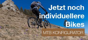 Jetzt noch individuellere Bikes! Klick: Zum Konfigurator