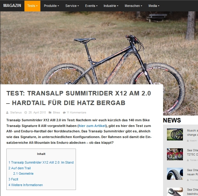 Testbericht 27.5er All Mountain - Enduro Hardtail MTB